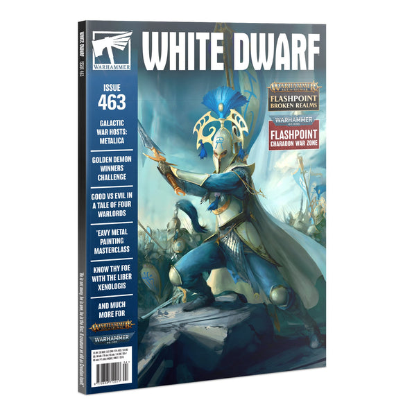 White Dwarf 463 (April 2021) - списание