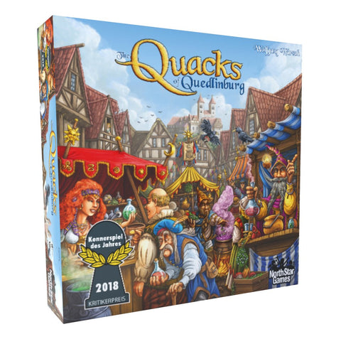 The Quacks of Quedlinburg - настолна игра