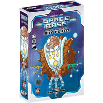 Space Base: The Emergence of Shy Pluto - настолна игра - Pikko Games