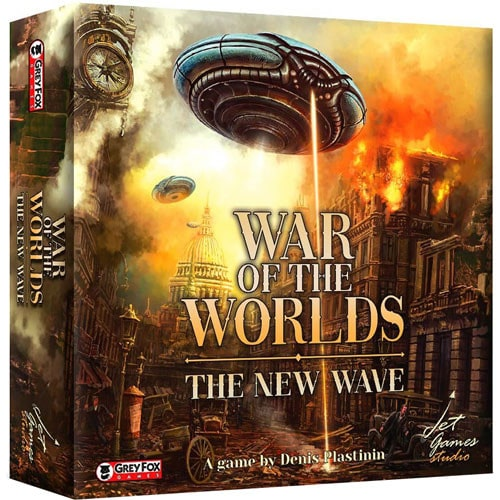 War of the Worlds: The New Wave - настолна игра