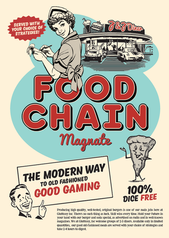 Food Chain Magnate - настолна игра