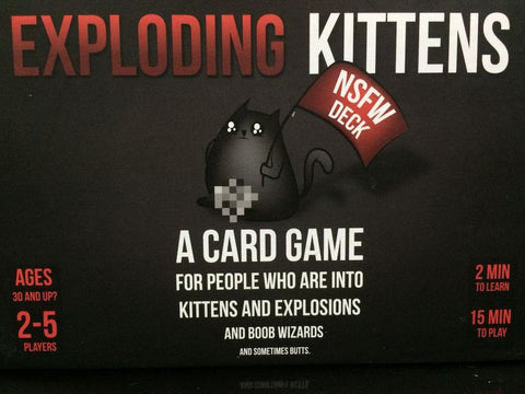 Exploding Kittens: NSFW Edition - настолна игра