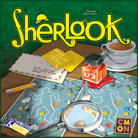 Sherlook - настолна игра