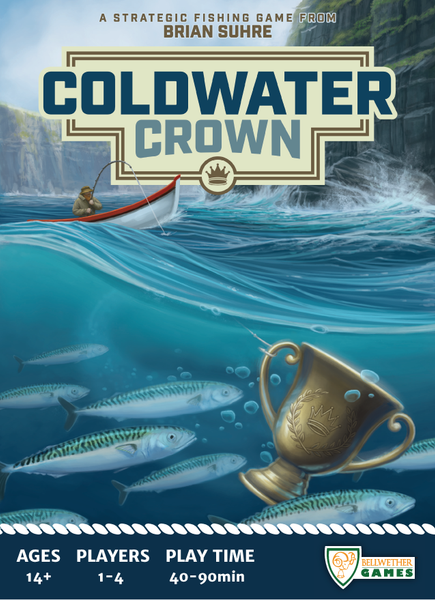 Coldwater Crown - настолна игра