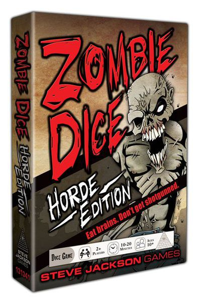 Zombie Dice Horde Edition - настолна игра