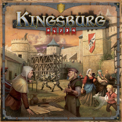 Kingsburg (Second Edition) - настолна игра