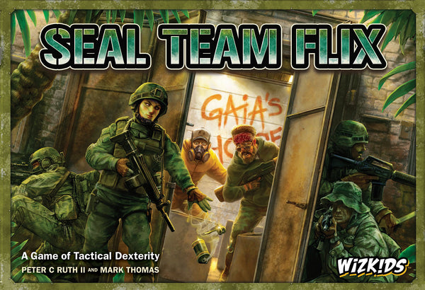 SEAL Team Flix - настолна игра