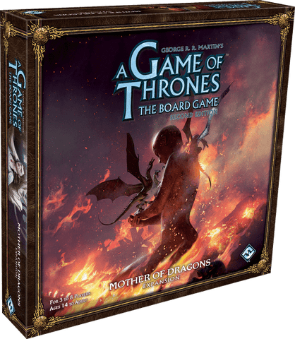 A Game of Thrones: The Board Game (Second Edition) - Mother of Dragons Expansion