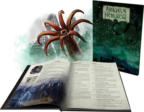 Arkham Horror (Third Edition): Deluxe Rulebook