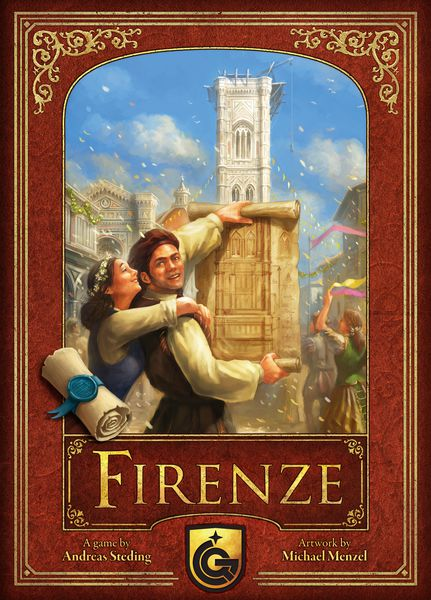 Firenze (2nd Edition) - настолна игра