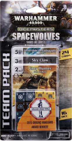 Warhammer 40 000 Dice Masters: Space Wolves – Sons of Russ Team Pack Expansion