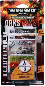 Warhammer 40 000 Dice Masters: Orks – WAAAGH! Team Pack Expansion