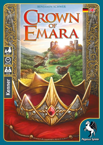 Crown of Emara - настолна игра