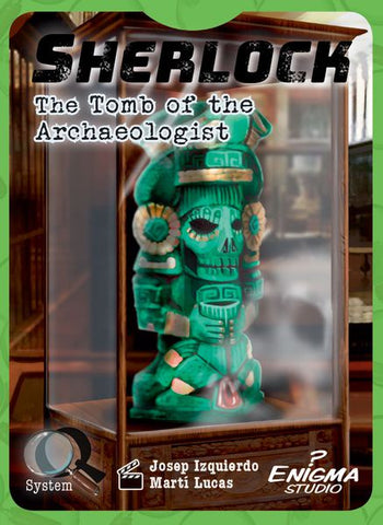Sherlock: Tomb of the Archaeologist - настолна игра