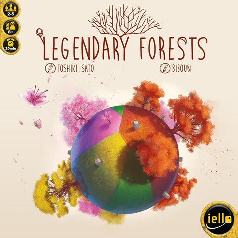 Legendary Forests - настолна игра
