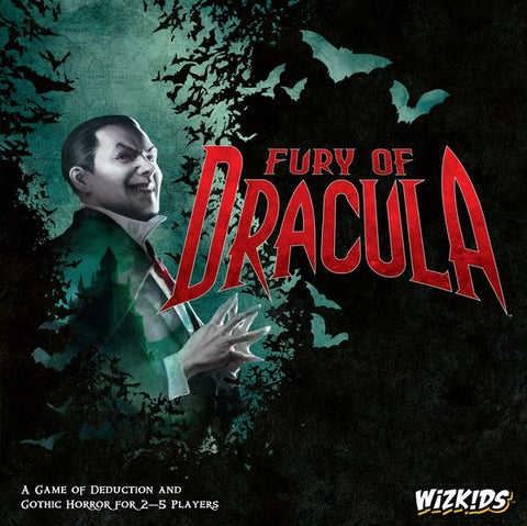 Fury of Dracula (Fourth Edition) - настолна игра