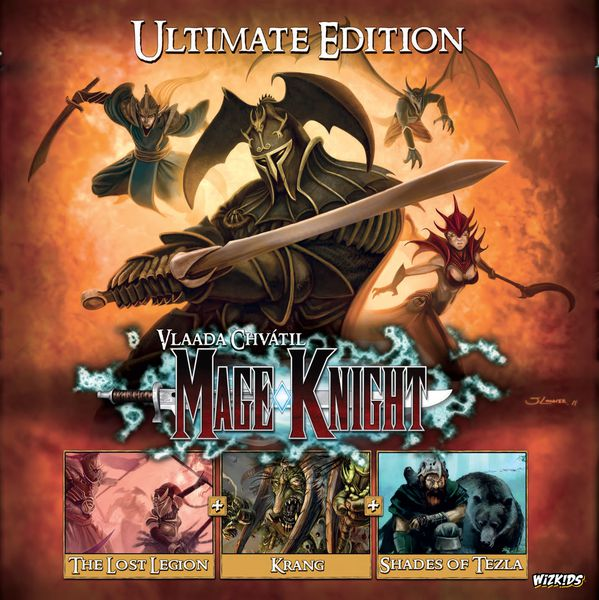 Mage Knight: Ultimate Edition - настолна игра