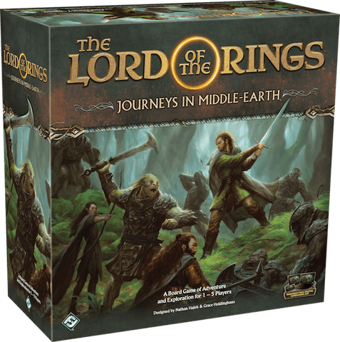The Lord of the Rings: Journeys in Middle-Earth - настолна игра - Pikko Games