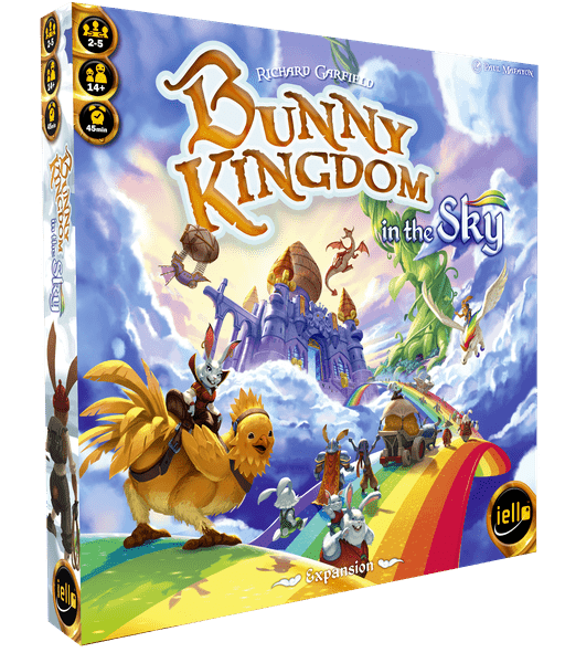 Bunny Kingdom in the Sky expansion - настолна игра