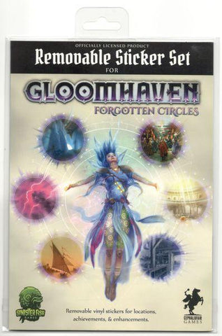 Gloomhaven: Forgotten Circles Removable Sticker Set