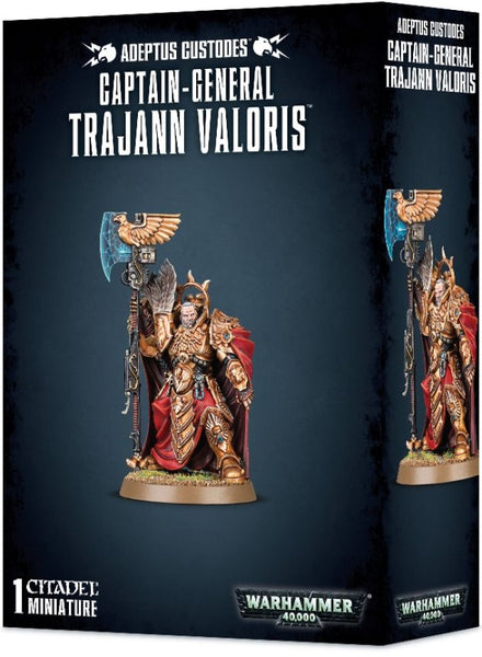 Captain-General Trajann Valoris - миниатюри
