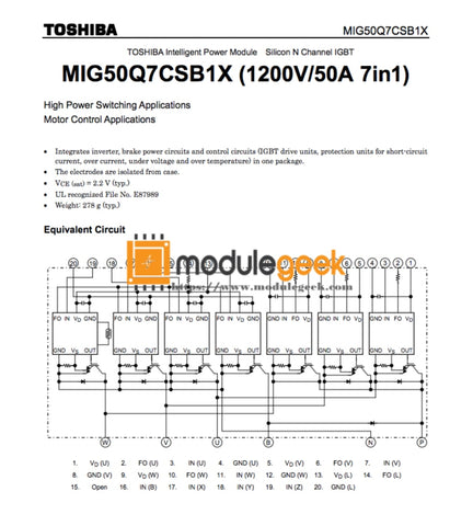 1Pcs Power Supply Module Mitsubishi Mig50Q7Csb1X New 100% Best Price And Quality Assurance Module
