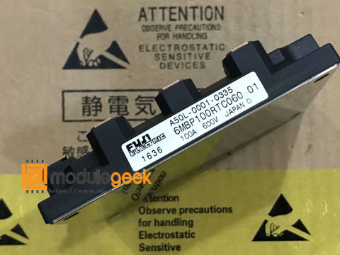 1PCS FUJI 6MBP100RTC060-01 A50L-0001-0335 POWER SUPPLY MODULE NEW 100% Best price and quality assurance