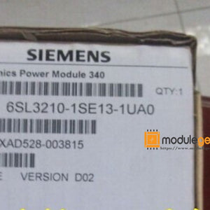 1PCS SIEMENS 6SL3210-1SE13-1UA0 POWER SUPPLY MODULE NEW 100% Best price and quality assurance