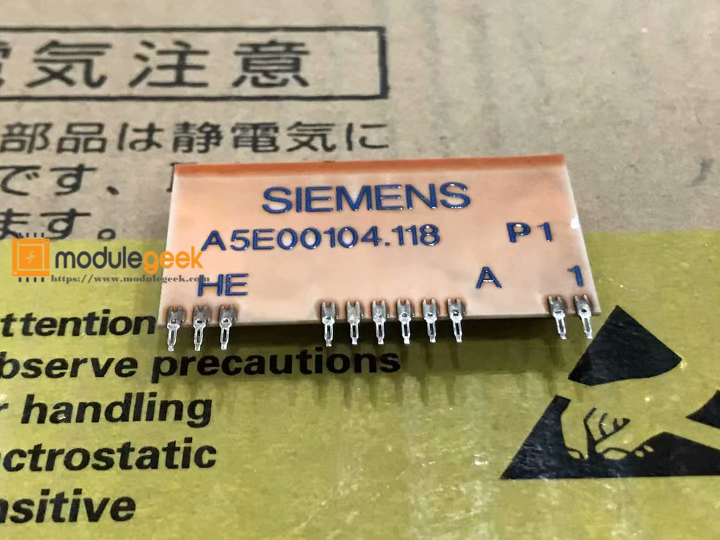 1PCS SIEMENS A5E00104.118 POWER SUPPLY MODULE NEW 100% Best price and quality assurance