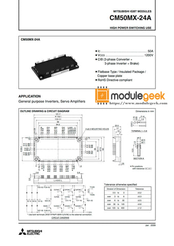 1PCS MITSUBISHI CM50MX-24A POWER SUPPLY MODULE  NEW 100%  Best price and quality assurance