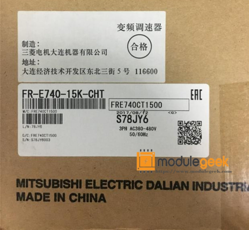 1PCS MITSUBISHI FR-E740-15K-CHT POWER SUPPLY MODULE NEW 100%  Best price and quality assurance