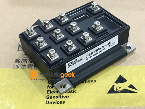 1PCS FUJI 6MBI75FA-060-01 POWER SUPPLY MODULE NEW 100% Best price and quality assurance
