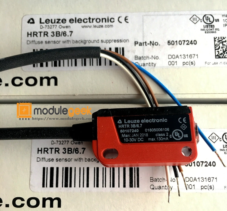 1PCS LEUZE HRTR 3B/6.7 POWER SUPPLY MODULE NEW 100% Best price and quality assurance