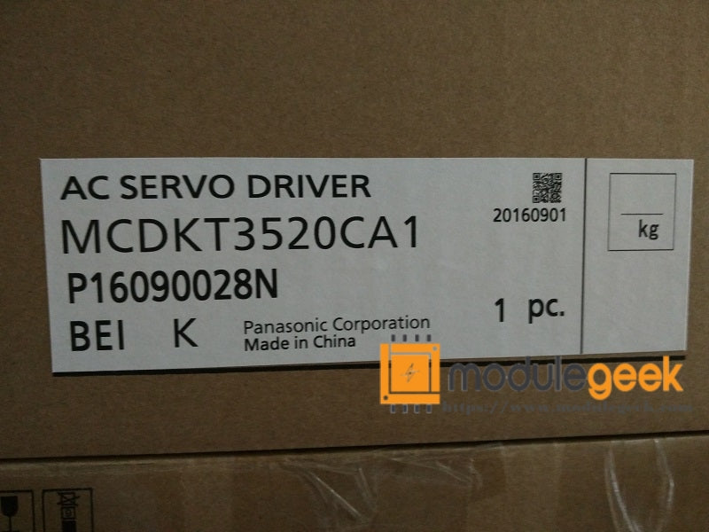 1PCS PANASONIC MCDKT3520CA1 POWER SUPPLY MODULE NEW 100%  Best price and quality assurance