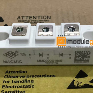 1PCS MACMIC MMD200S160B POWER SUPPLY MODULE  NEW 100%  Best price and quality assurance