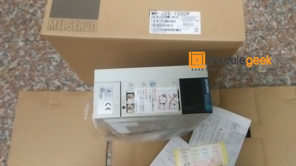 1PCS MITSUBISHI MR-J2S-100CP POWER SUPPLY MODULE NEW 100%  Best price and quality assurance