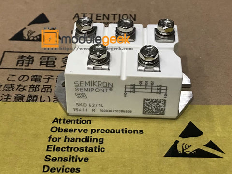 1PCS SEMIKRON SKD62/14 POWER SUPPLY MODULE NEW 100% Best price and quality assurance
