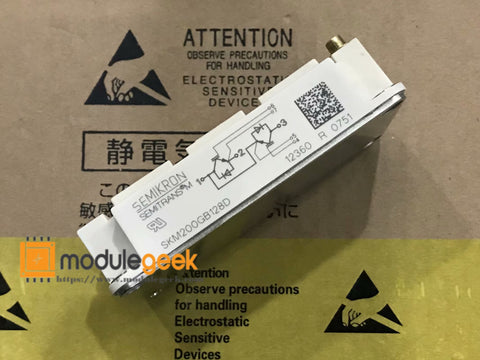 1PCS SEMIKRON SKM200GB128D POWER SUPPLY MODULE NEW 100% Best price and quality assurance
