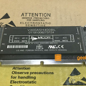 1PCS VICOR V300A5H400BL POWER SUPPLY MODULE  NEW 100%  Best price and quality assurance