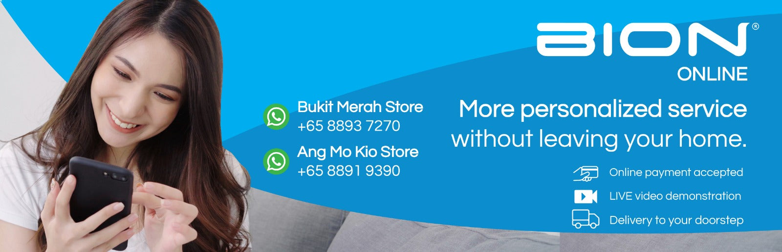 BION Retail Store going online