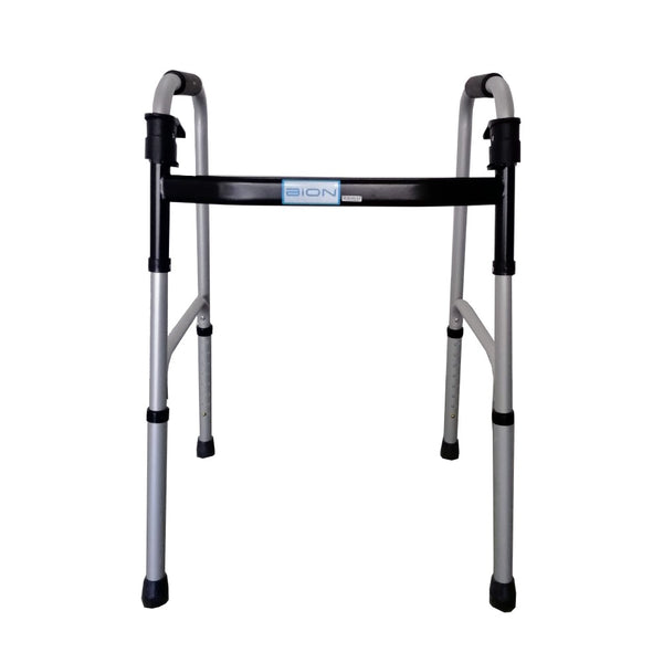 Bion, Walking Frame, Foldable, Aluminium, Fixed, 83-100cm, Silver - 00964C