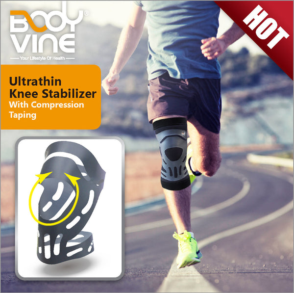 BODYVINE UltraThin Knee Stabilizer