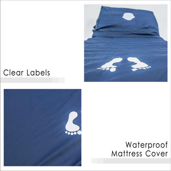 Clear Labels and Waterproof Mattress Cover