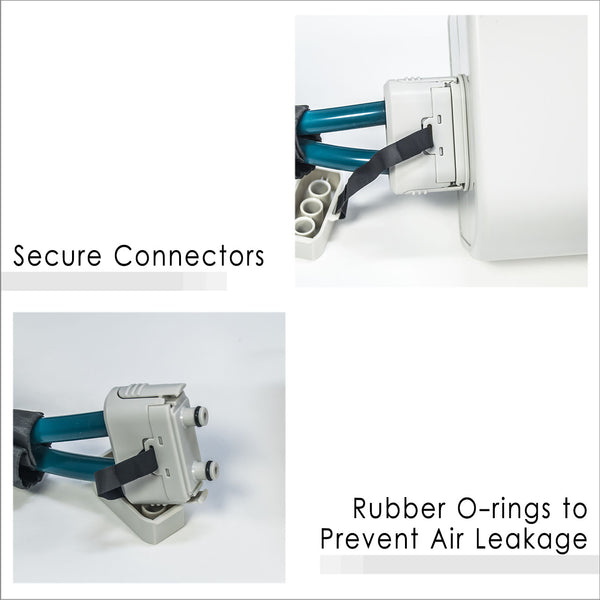Secure and Airtight Connection with Motor