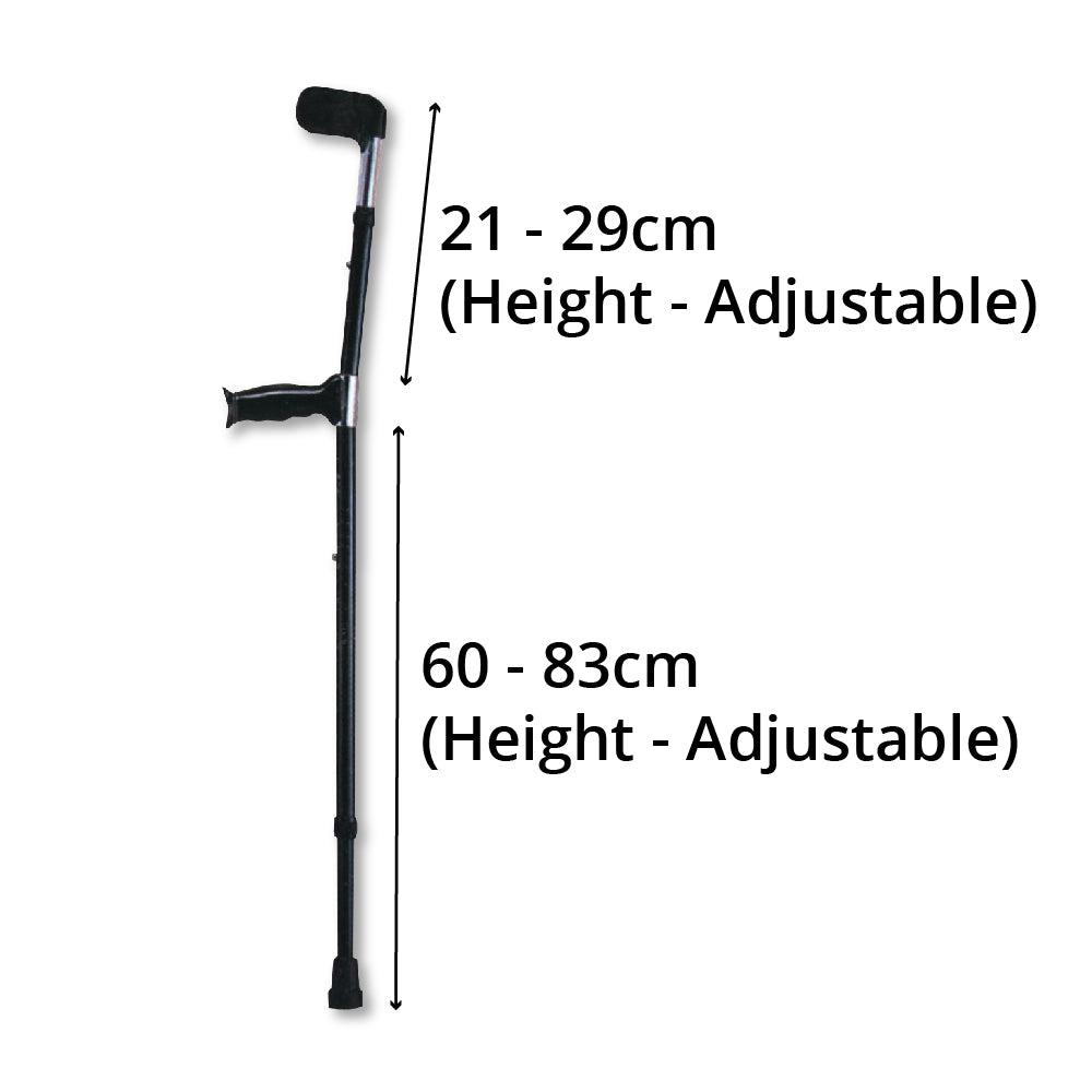 Elbow Crutch Specifications