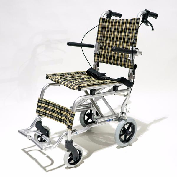 Yellow Light Wheelchair for Rent. Good for travelling