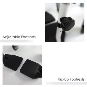 Flip-up Footrests