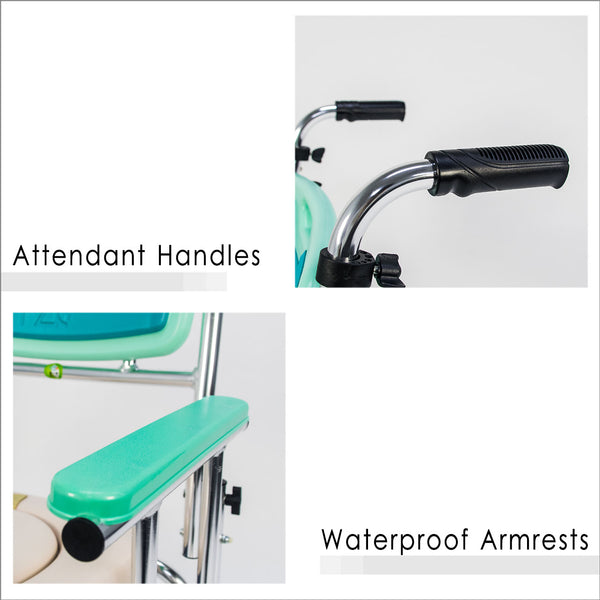 Attendant Handles and Waterproof Armrests