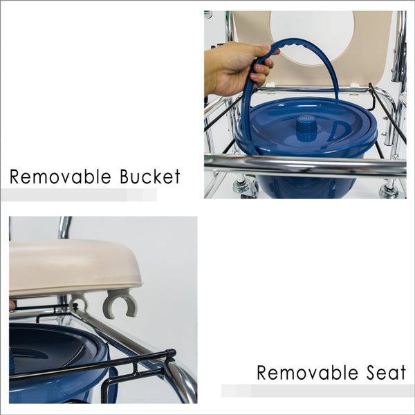 Removable Bucket and Removable Seat