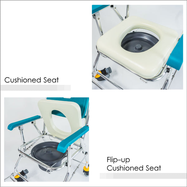 Cushioned Flip-up Seat